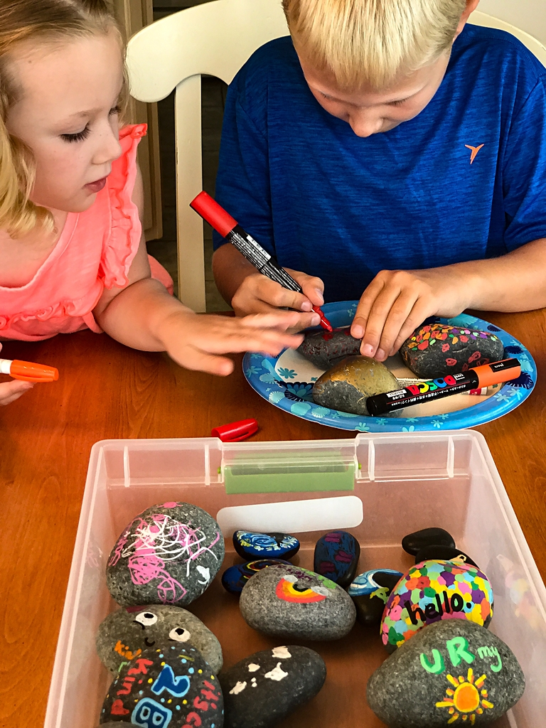How To Decorate Kindness Rocks