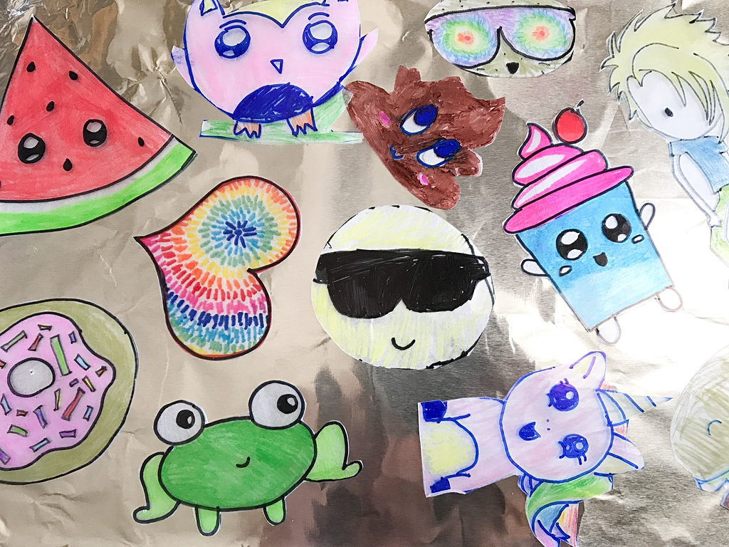 How To Make Shrinky Dink Pins