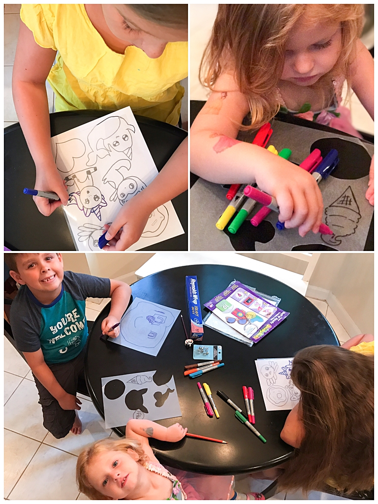 How to Make Pins Using Shrinky Dinks - Rainy Day Kids Craft