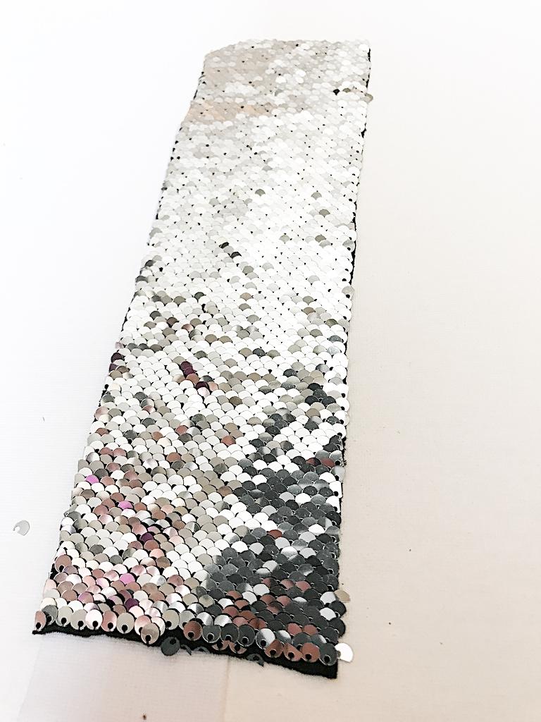 DIY Mermaid Sequin Bracelet