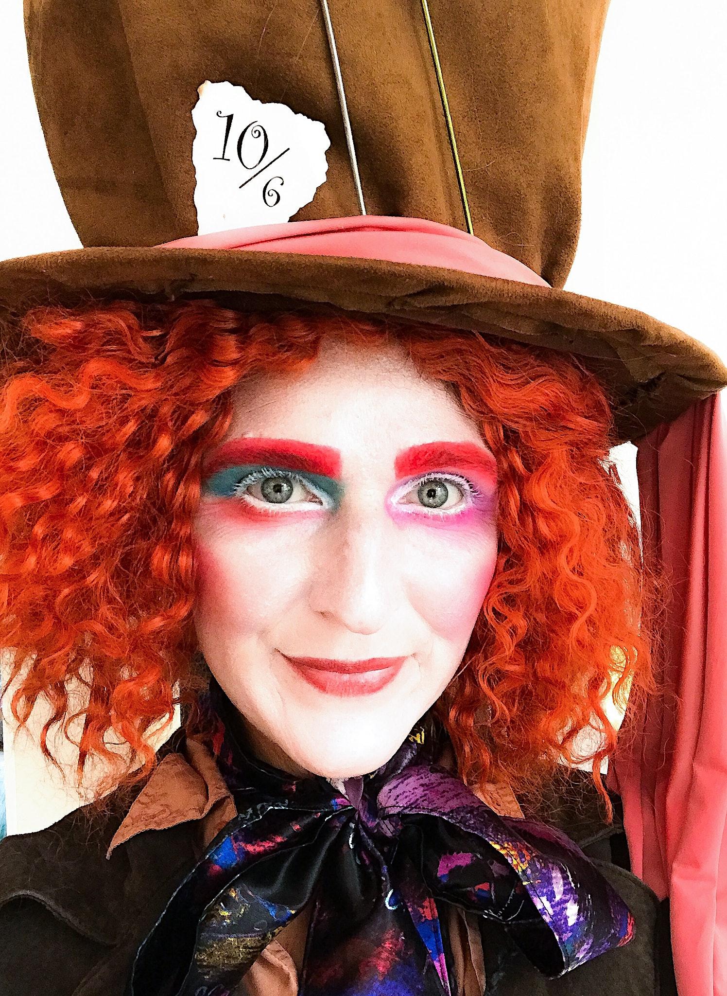 mad hatter Halloween costume