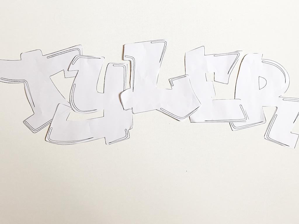DIY Graffiti Art