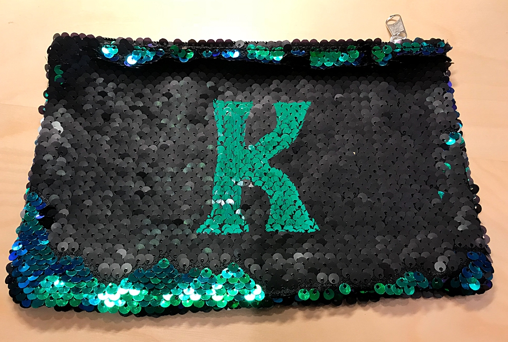 mermaid fabric, sequin, personalize mermaid fabric, paint pen, sharpie, craft