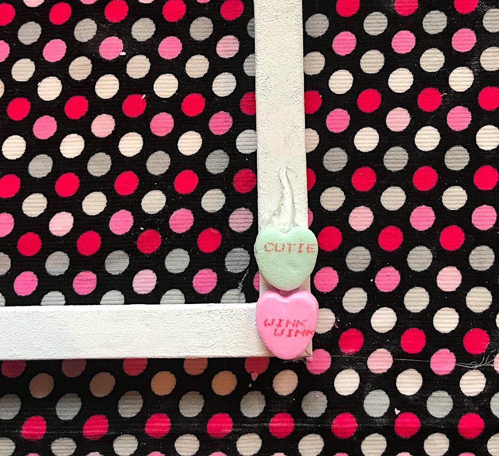 valentine craft, valentines day craft, conversation heart