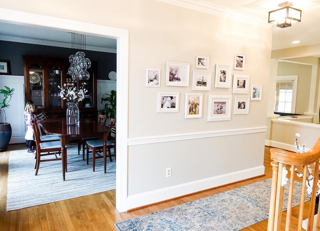 Farmhouse Photo Gallery Wall