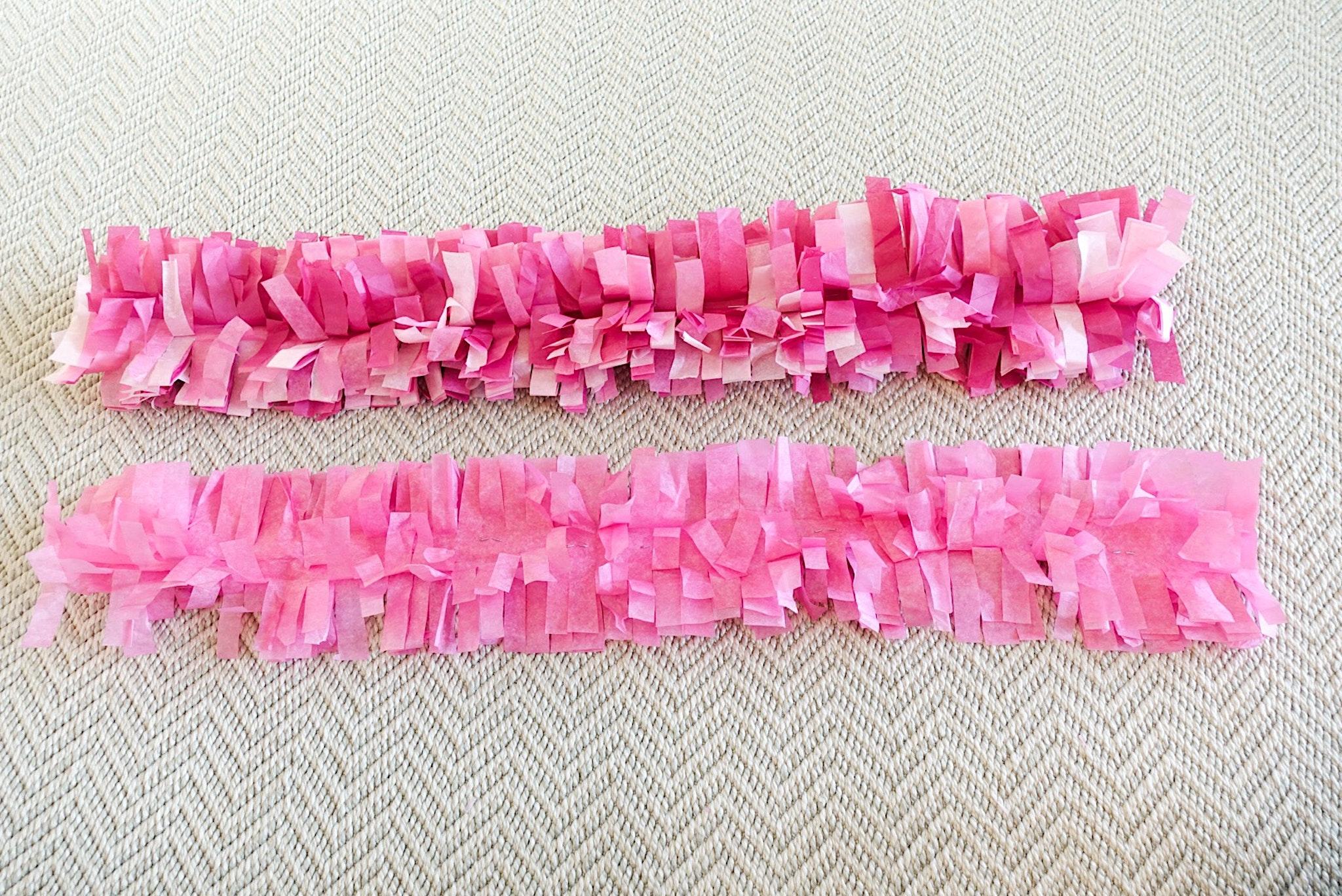 South Lumina Style Fringed Tissue Paper Garland