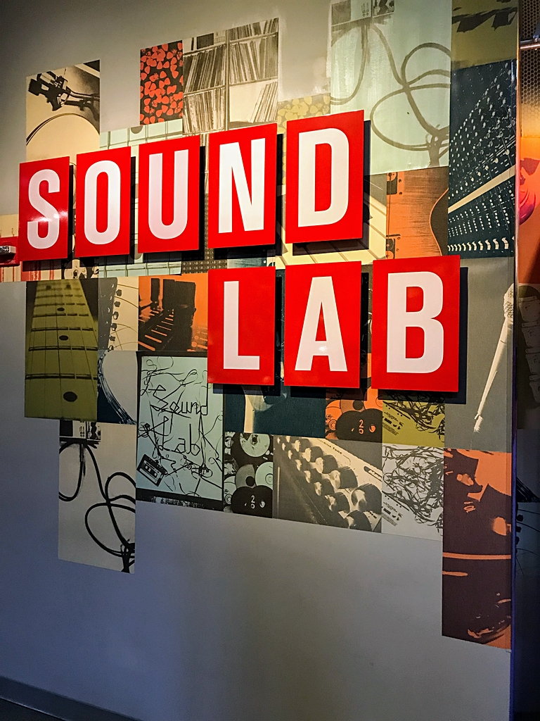 Family Trip to Seattle - MoPop Sound Lab