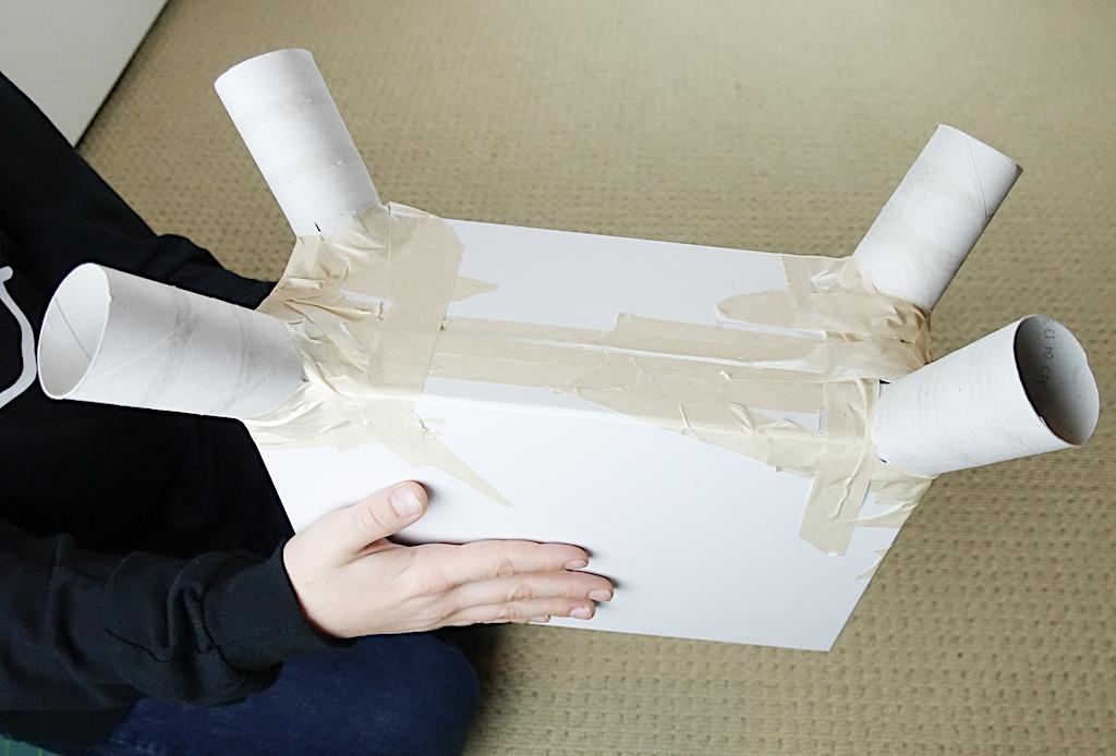 DIY Fortnite Llama Valentine's Day Classroom Mailbox