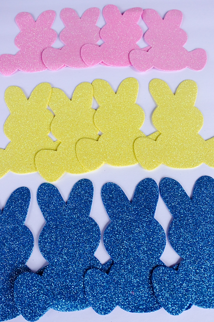DIY Dollar Store Peep Banner Easter Decoration