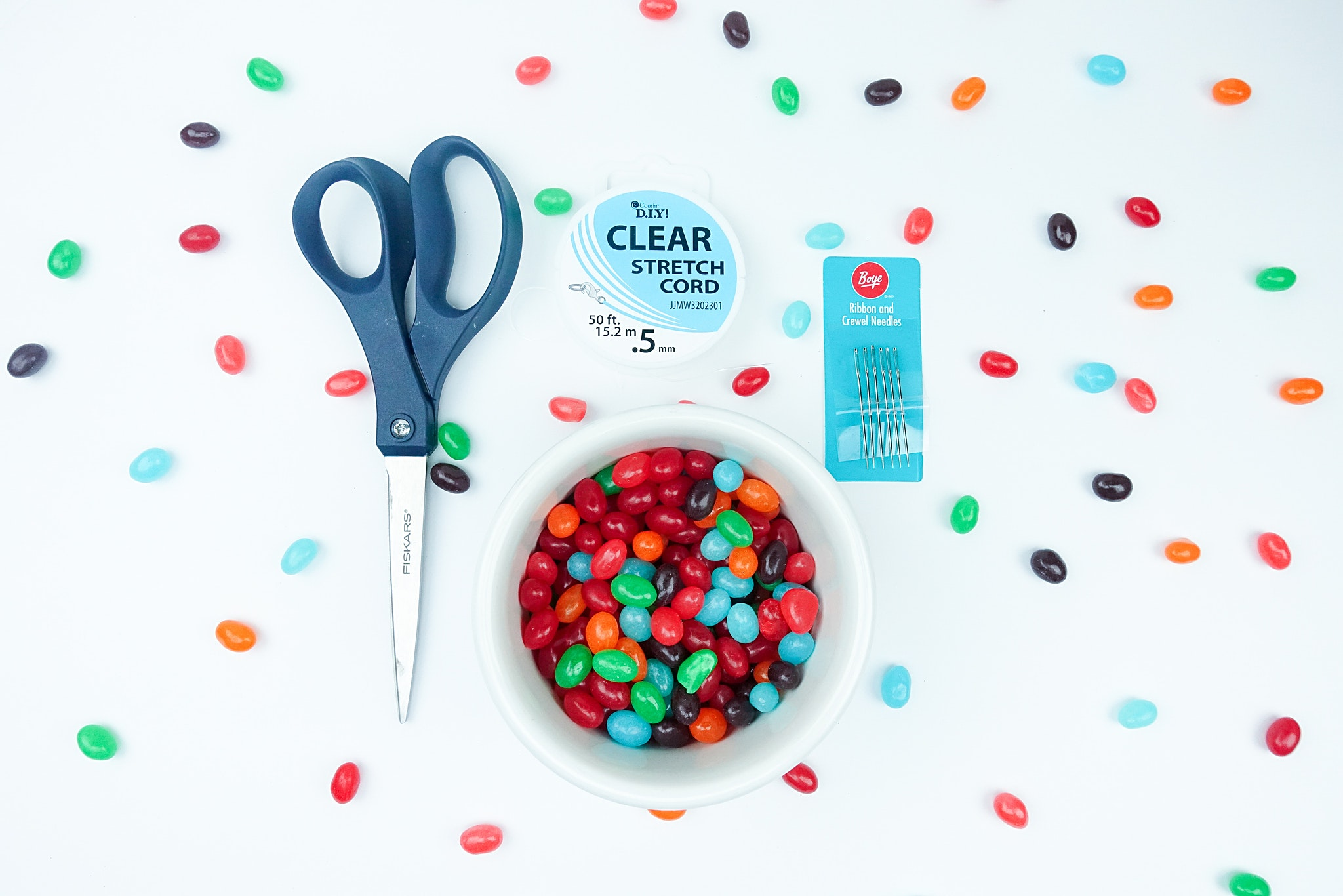 DIY Jellybean Bracelets