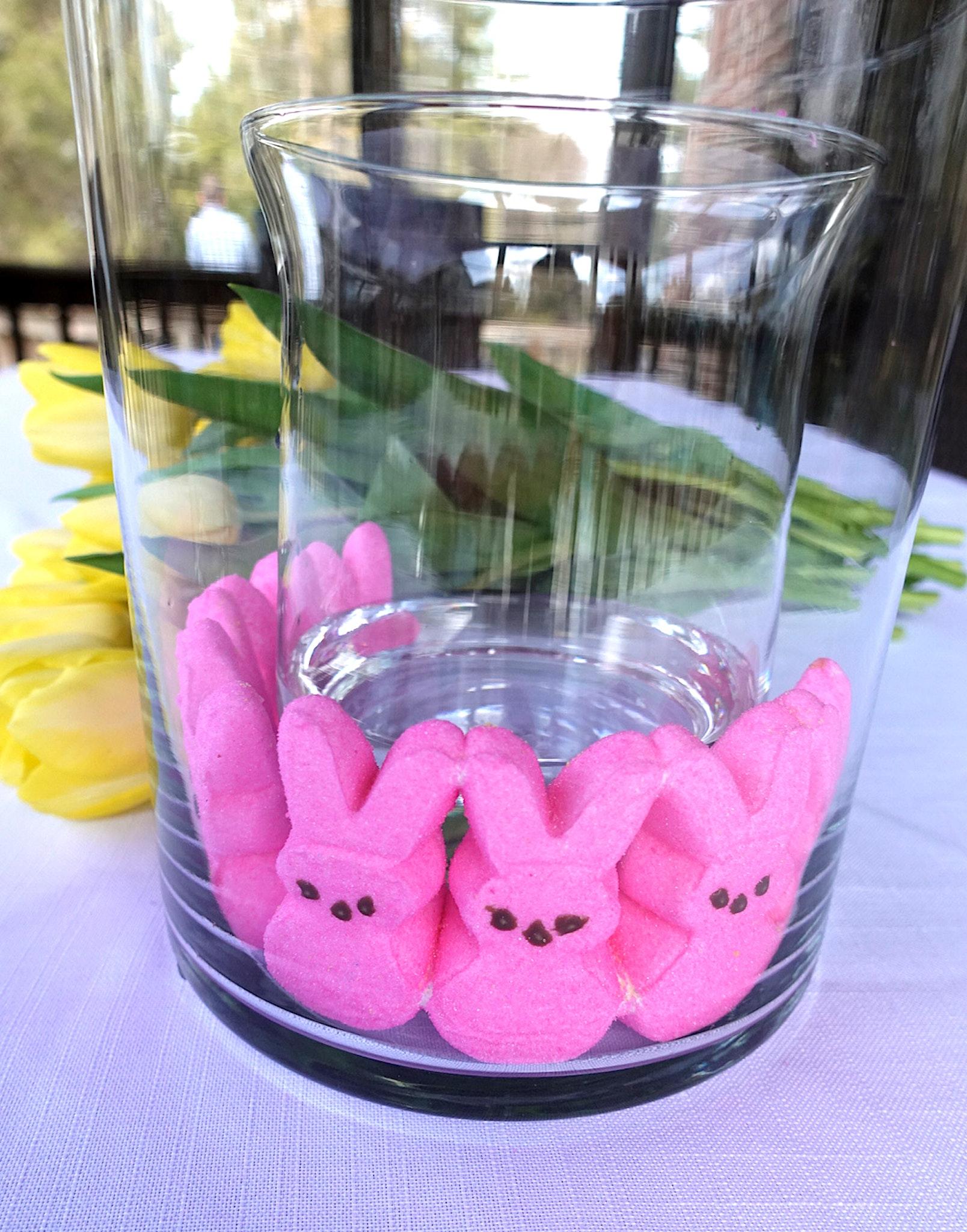DIY Peeps Easter Centerpiece