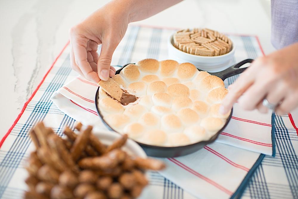 oven s'mores dip recipe