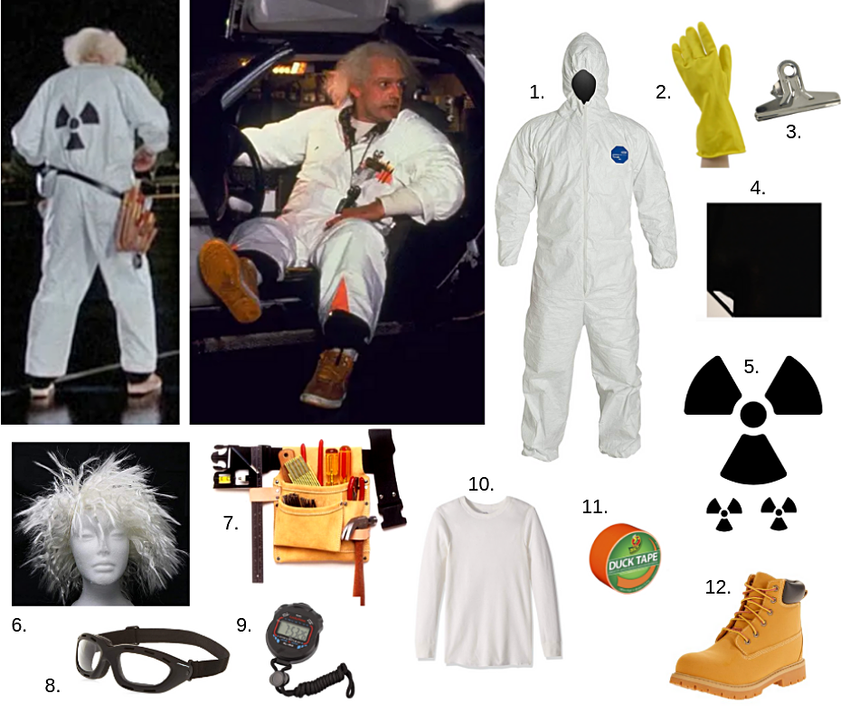 Back to the future Halloween costume