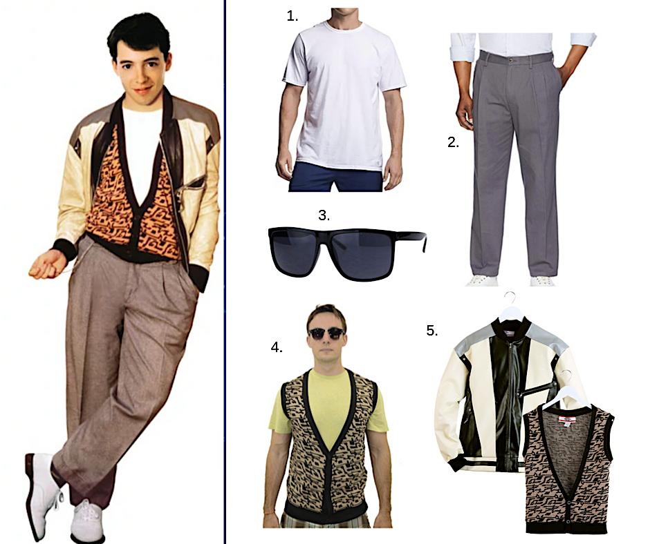 Ferris Bueller's Day Off Halloween Costume