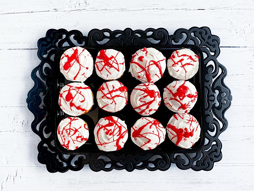 halloween cupcake dessert