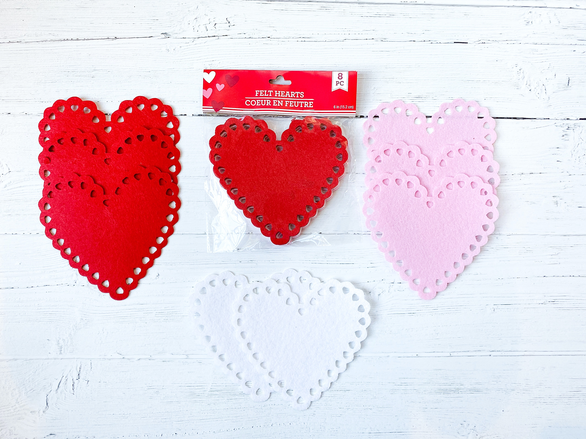 dollar store valentines day banner