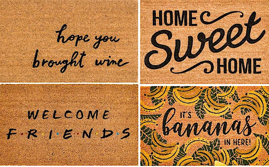 our favorite doormats