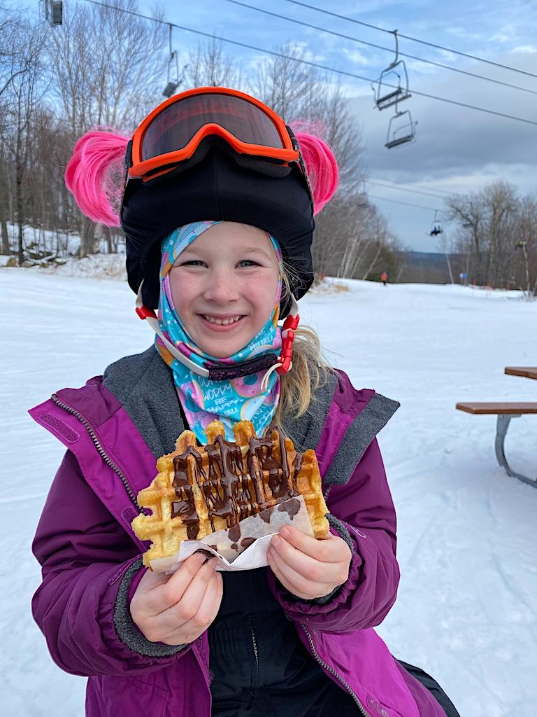 waffle cabin okemo mountain resort ludlow vermont