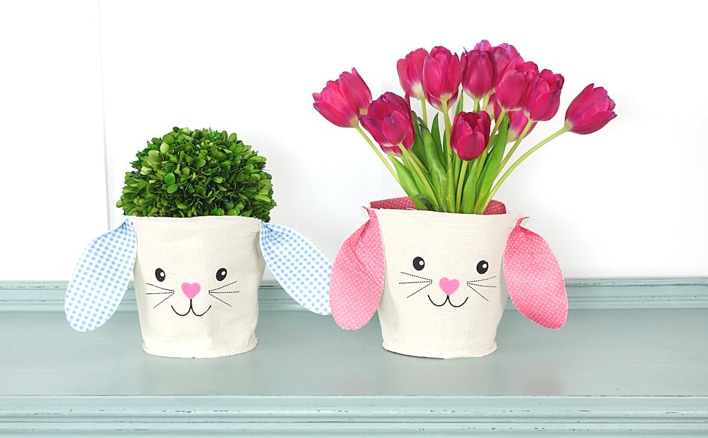 Dollar Store Easter Basket Decoration
