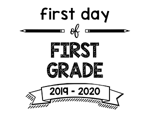 thumbnail of First Day of First Grade 2019 – 2020
