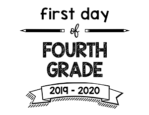 thumbnail of First Day of Fourth Grade 2019 – 2020