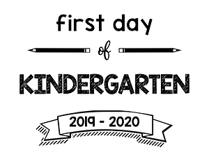 thumbnail of First Day of Kindergarten 2019 – 2020
