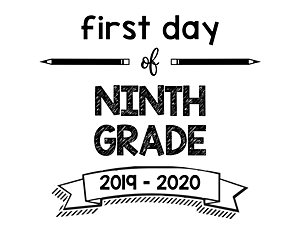 thumbnail of First Day of Ninth Grade 2019 – 2020