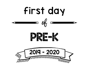 thumbnail of First Day of PreK 2019 – 2020