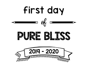 thumbnail of First Day of Pure Bliss 2019 – 2020