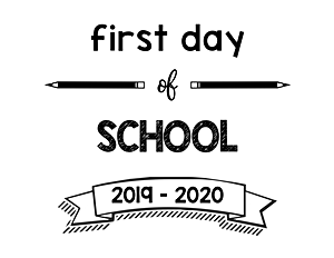 thumbnail of First Day of School 2019 – 2020