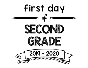 thumbnail of First Day of Second Grade 2019 – 2020