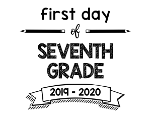 thumbnail of First Day of Seventh Grade 2019 – 2020