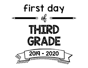 thumbnail of First Day of Third Grade 2019 – 2020