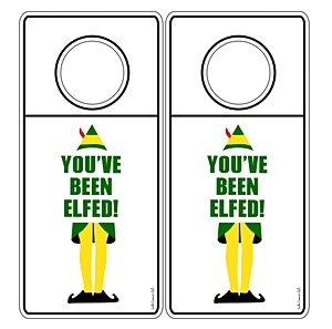You've Been Elfed Wine Bottle Hang Tags