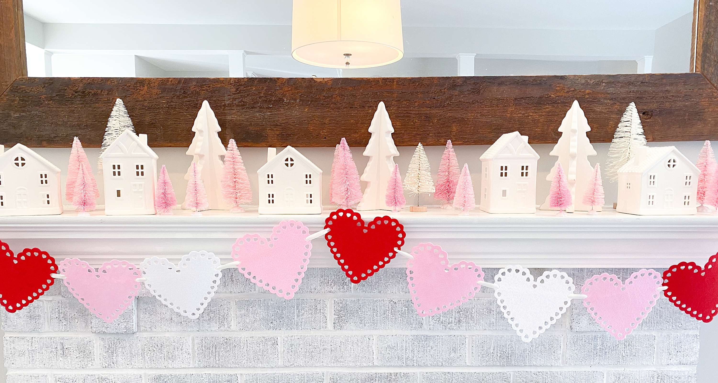 Diy Dollar Store Valentine S Day Banner South Lumina Style