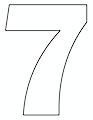 thumbnail of 7- 8.5 x 11 yard sign