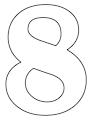thumbnail of 8- 8.5 x 11 yard sign