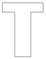thumbnail of T – 8.5 x 11 yard sign