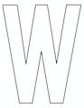 thumbnail of W – 8.5 x 11 yard sign