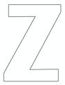 thumbnail of Z – 8.5 x 11 yard sign