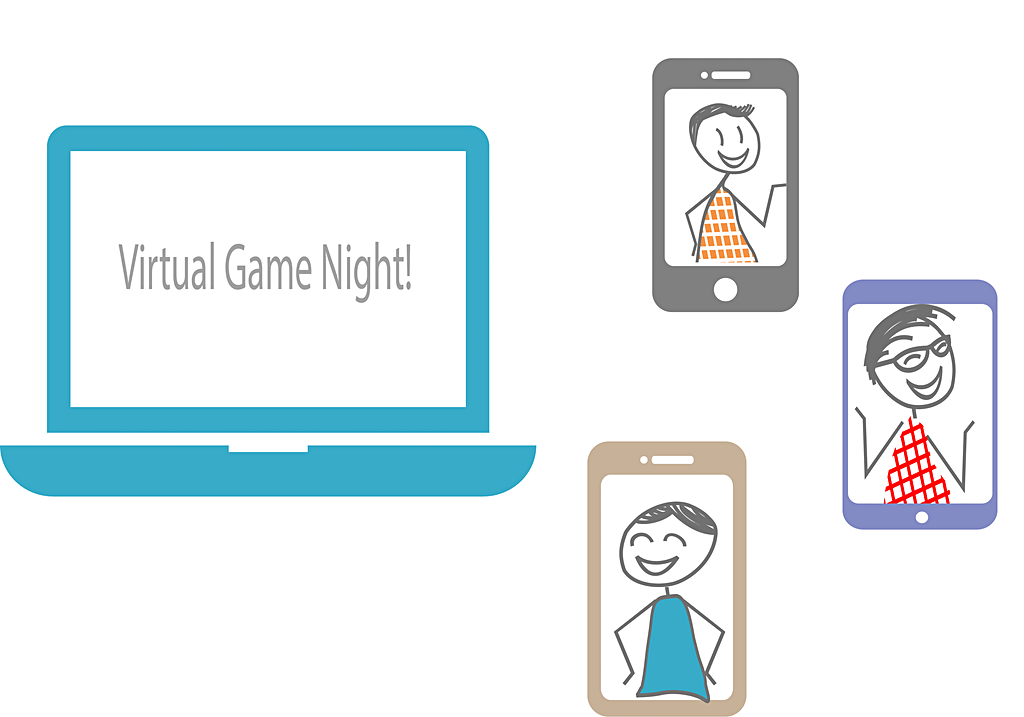 how to host a virtual game night