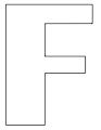 thumbnail of F – 8.5 x 11Yard Signs