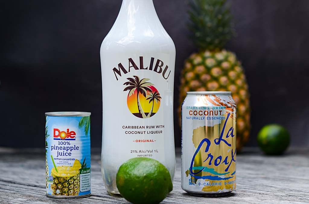 skinny pina colada ingredients