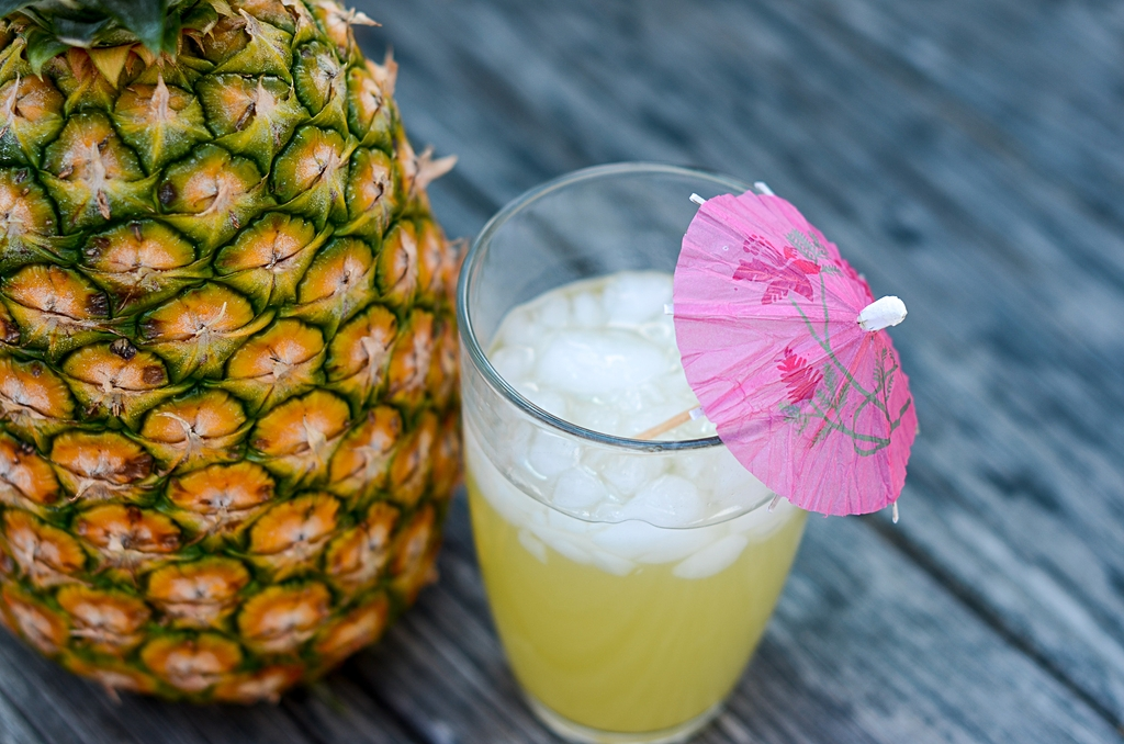How to make a skinny pina colada
