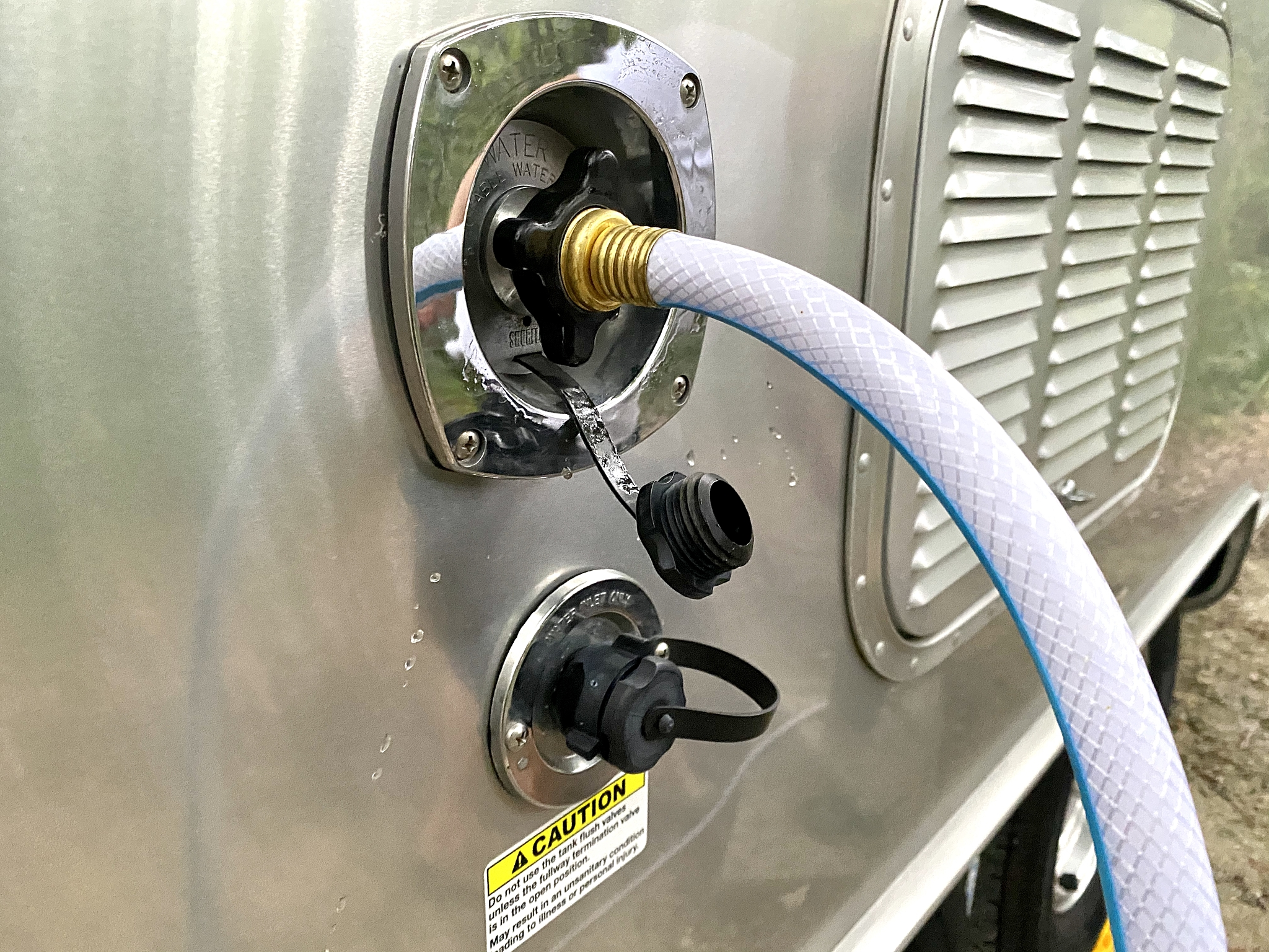 Fresh water hose what to buy for a new rv