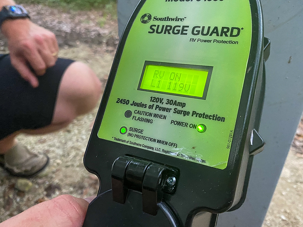 RV surge protector what to buy for an RV