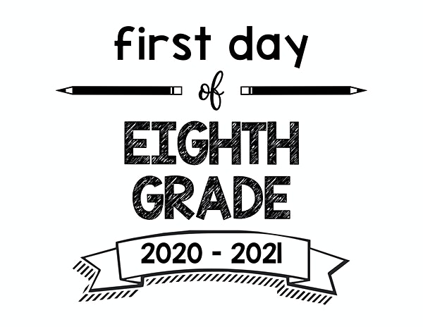 thumbnail of First Day of Eighth Grade 2020 – 2021