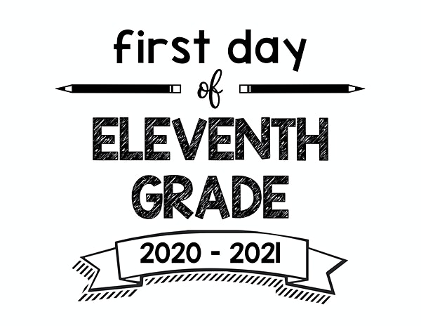 thumbnail of First Day of Eleventh Grade 2020- 2021