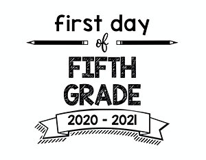 thumbnail of First Day of Fifth Grade 2020 – 2021