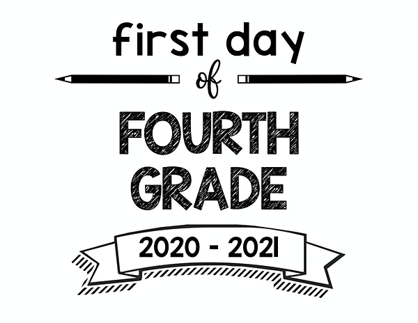 thumbnail of First Day of Fourth Grade 2020 – 2021